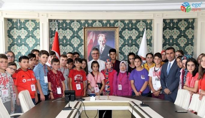 Aksaraylı öğrenciler Adıyaman'da misafir edildi