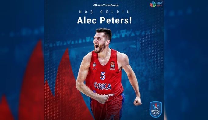 Anadolu Efes, Alec Peters'i transfer etti