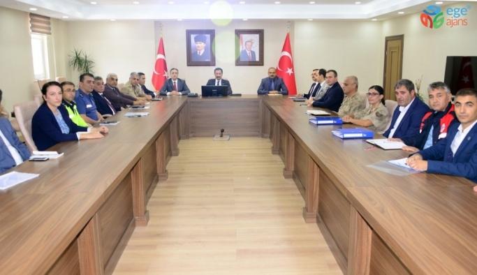 Ardahan'da Acil Afet Durum Planı toplantısı yapıldı