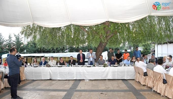 Başkan Gürkan bilim adamları ile bir araya geldi