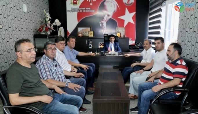 Başkan Kılınç gazetecilere 24 Temmuz ziyareti