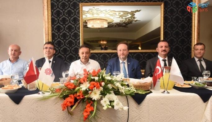 Başkan Orkan'dan  Muhtarları ile bir araya geldi