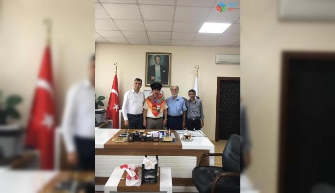 Başkan Sever'e hayırlı olsun ziyaretleri