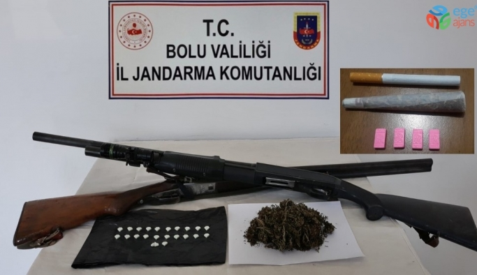 Bolu'da uyuşturucu operasyonunda 1 tutuklama