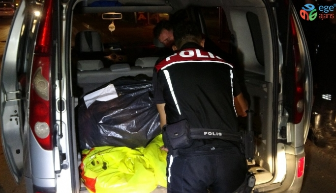 Bursa'da bayram öncesi narkotik uygulaması