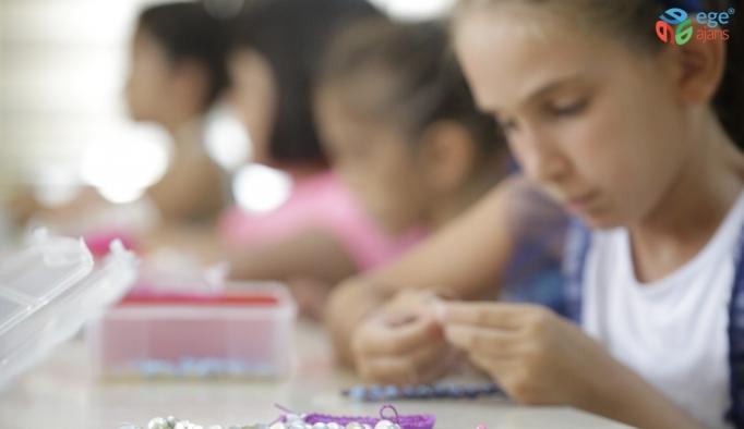 Büyükşehirden çocuklara  takı tasarım kursu