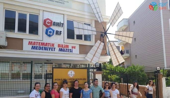 Cahit Arf Müzesini 730 öğretmen ziyaret etti
