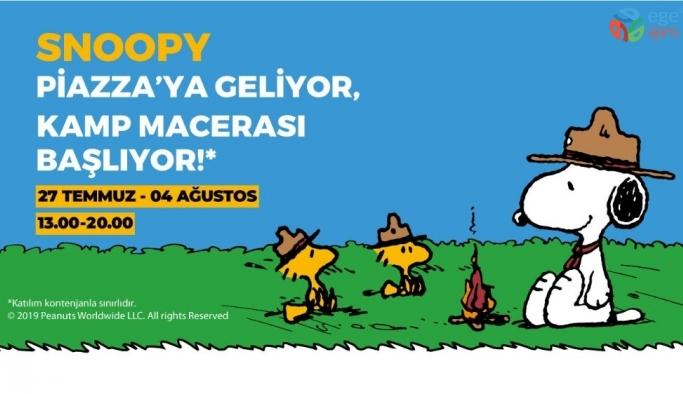 """Çocukların """"Akıllı Dostu"""" Snoopy Piazza'ya geliyor"""