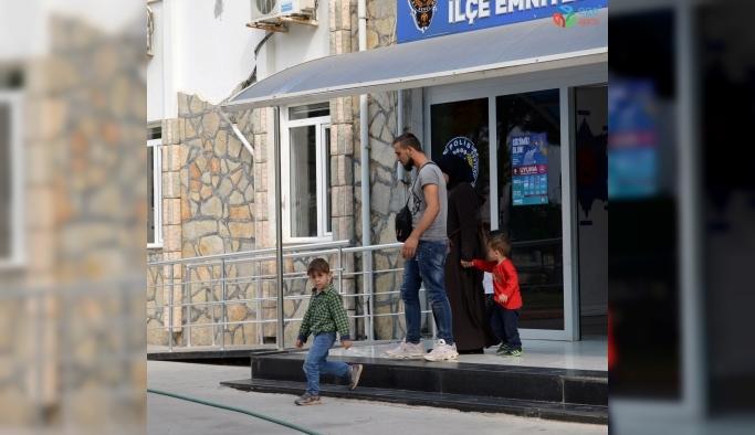 Didim'de 107 kaçak göçmen yakalandı