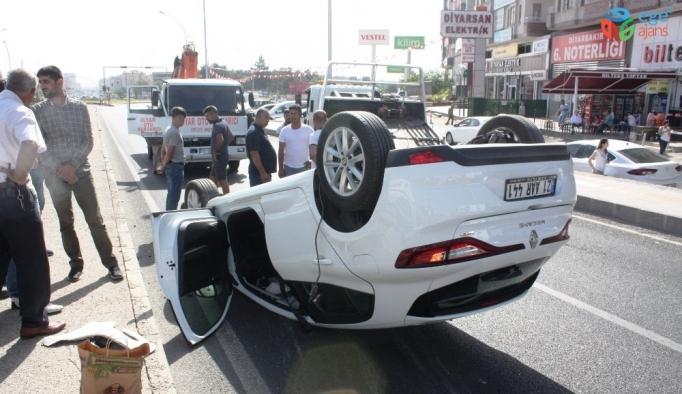 Diyarbakır'da trafik kazası: 5 yaralı