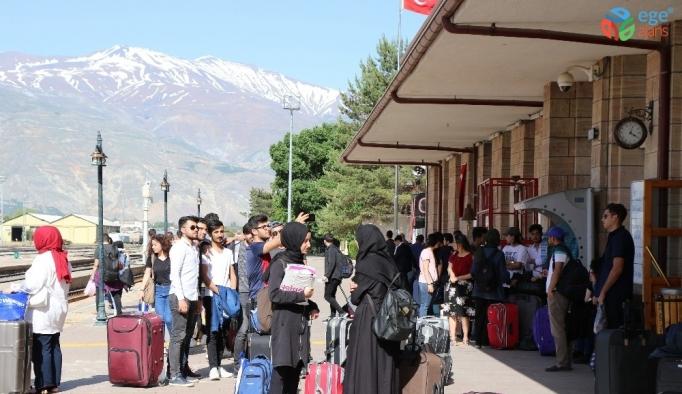 Erzincan- Divriği arasında ikinci raybüs seferleri başlıyor