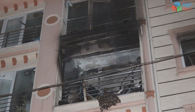 Esenler'de korkutan yangın: 1 kişi dumandan etkilendi
