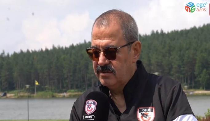 Gazişehir Gaziantep FK Başkanı Konukoğlu'ndan transfer açıklaması