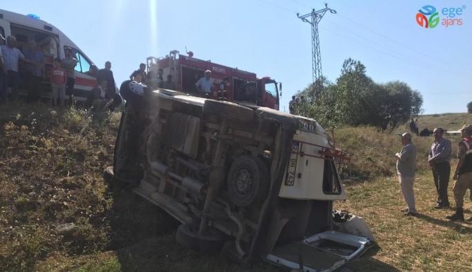 Gümüşhane'de trafik kazası 1 ölü, 18 yaralı
