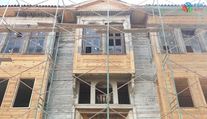 Havran'da Atatürk'e kapılarını açan ev restore ediliyor