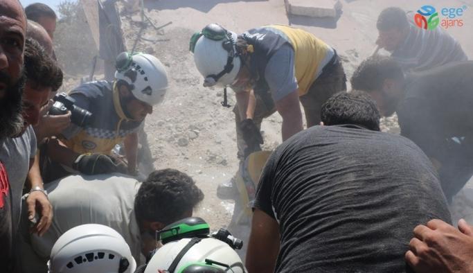 İdlib ve Halep'e hava saldırısı: 9 ölü, 17 yaralı