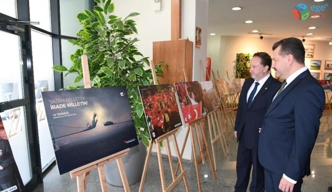 İHA'nın 15 Temmuz fotoğrafları Balıkesirlilerin beğenisine sunuldu