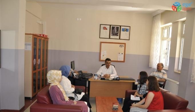 İlçe Milli Eğitim Müdürü Gümüş'ten Tercih Danışmanları Komisyonlarına ziyâret
