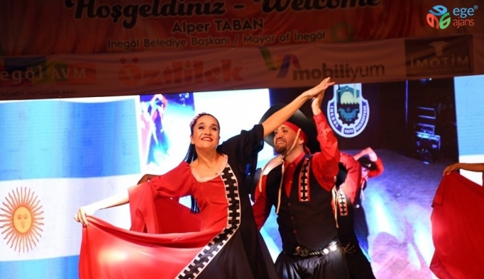 İnegöl'de 32. Uluslararası Kültür Sanat Festivali başladı
