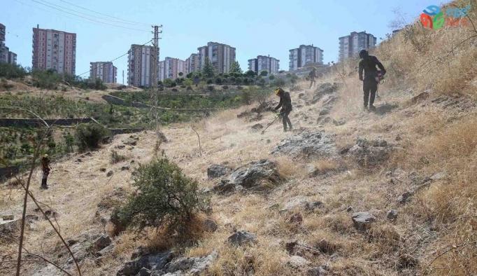Karşıyaka'da yangına karşı önlem