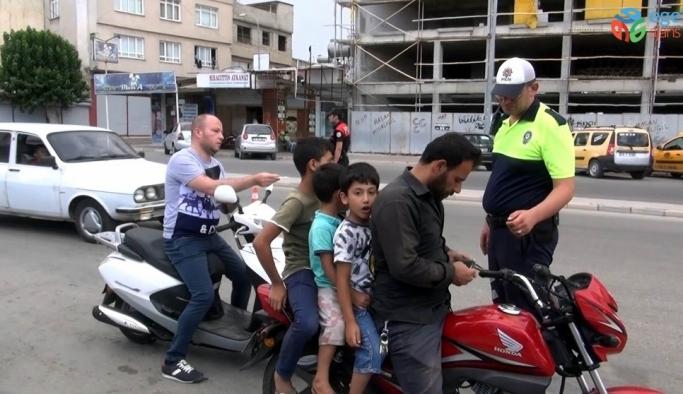 Kilis'te motosiklet uygulamaları artırıldı