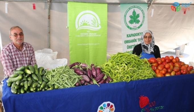 Kocasinan'da üretici ve tüketicinin buluştuğu organik pazar açılıyor