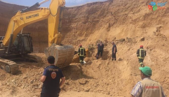 Maden sahasında göçük: 2 yaralı