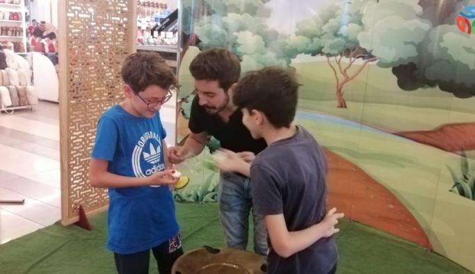 Meysu Outlet'te Topaç Turnuvası başladı