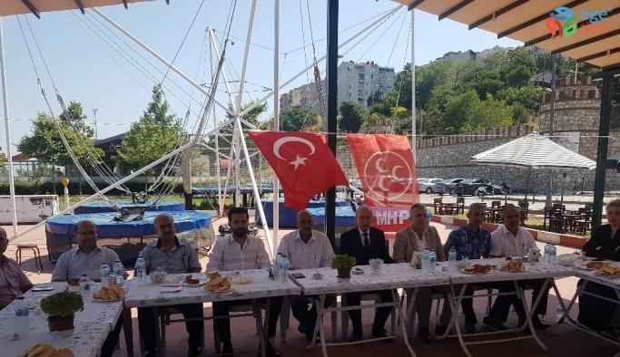 MHP'li Dereli'den 'fitne' uyarısı