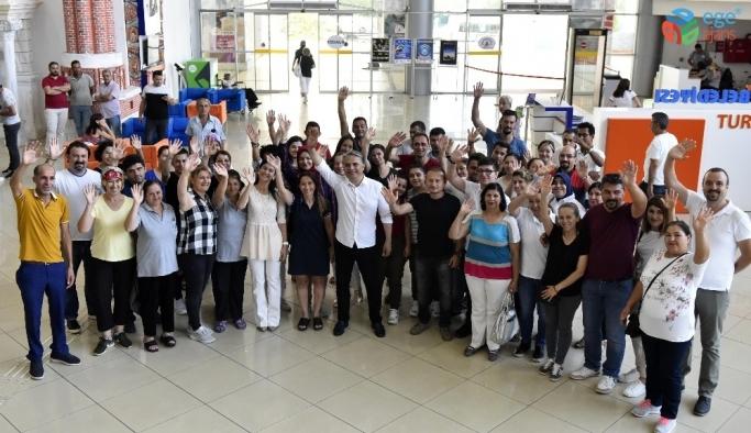 Muratpaşa'da hijyen eğitimi sertifikalandırıldı
