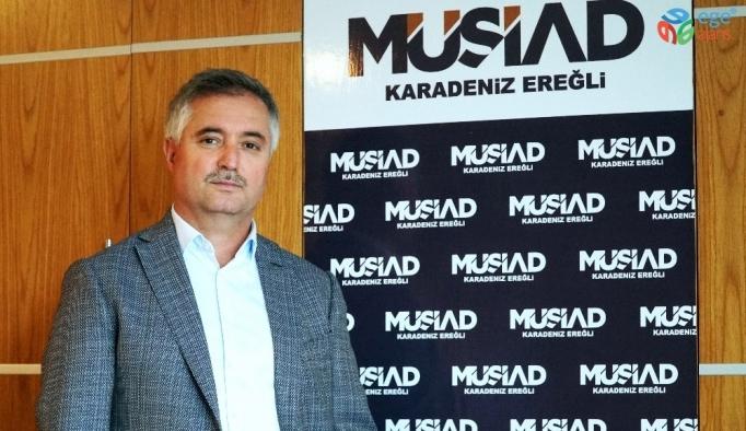 MÜSİAD Başkanı Çınar basın bayramını kutladı
