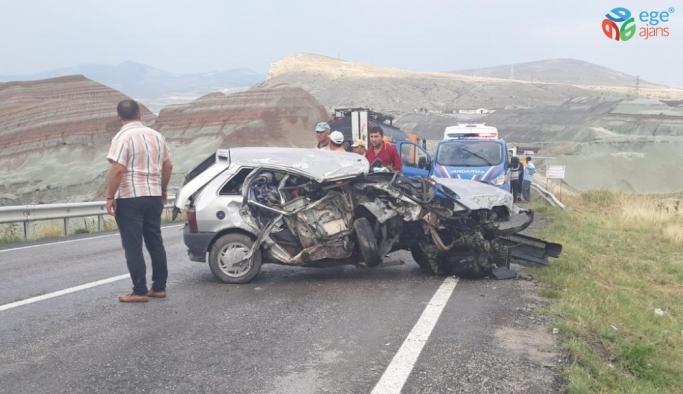 Nallıhan'da trafik kazası; 1 yaralı