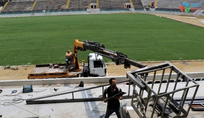 (Özel haber) Denizli Atatürk Stadı Süper Lig'e hazır