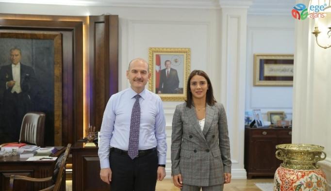Sabriye Şengül'den Bakan Süleyman Soylu'ya ziyaret