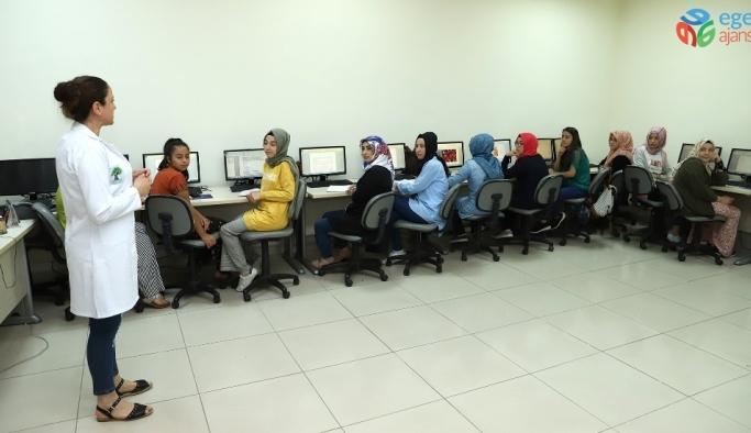 Şehitkamil'de kadınlara bilgisayar eğitimi