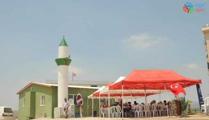 Soner Çetin, Karahan Mahallesi'nde cami açılışına katıldı