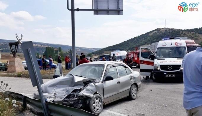 Sungurlu'daki trafik kazası1 ölü, 3 yaralı