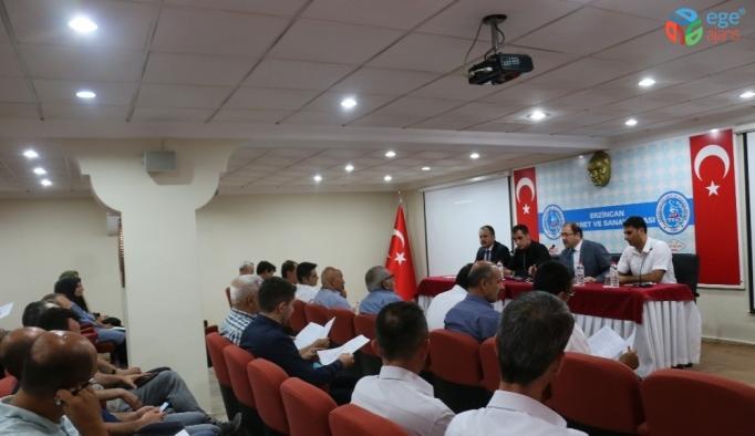 Tarım sektörünün paydaşları Erzincan'da bir araya geldi