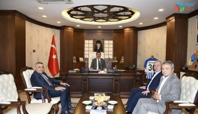 TOBB heyetinden Vali Akbıyık'a ziyaret