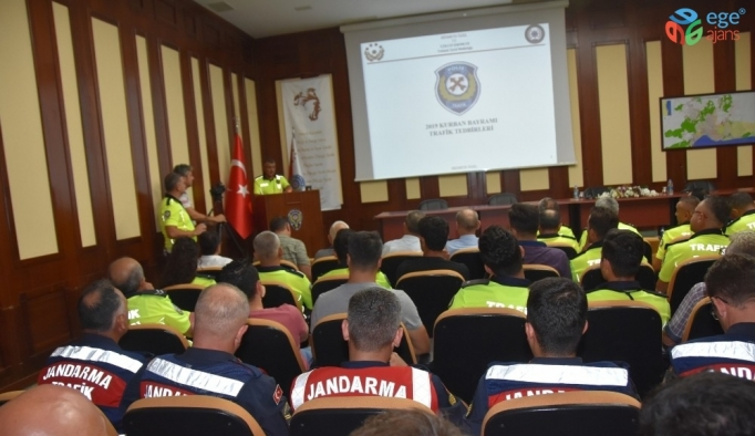 Antalya'da Kurban Bayramı tedbirleri masaya yatırıldı