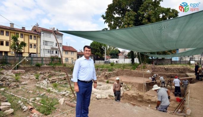 Arkeopark kazılarında sona gelindi