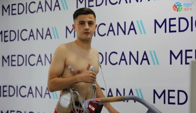 Armin Djerlek, sağlık kontrolünden geçti