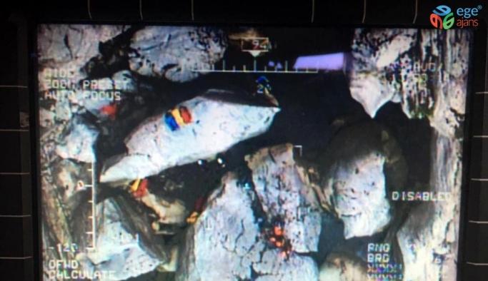 Ayağı kırılan dağcıyı Kara Kuvvetleri helikopteri tahliye etti