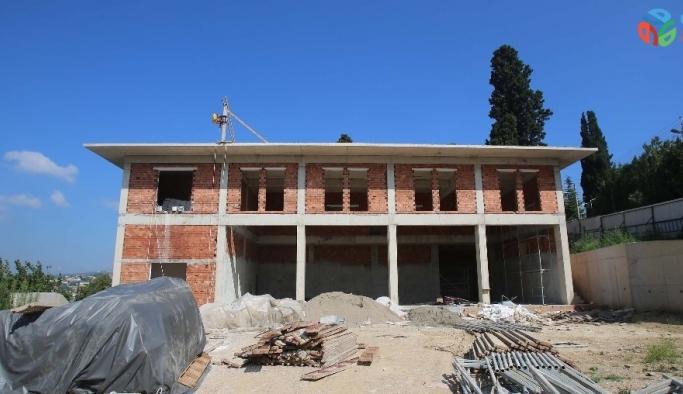 Bağçeşme itfaiye binasının tüm katları görüldü