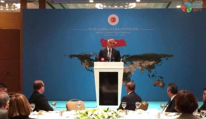 Bakan Ersoy, 11. Büyükelçiler Konferansı'na katıldı