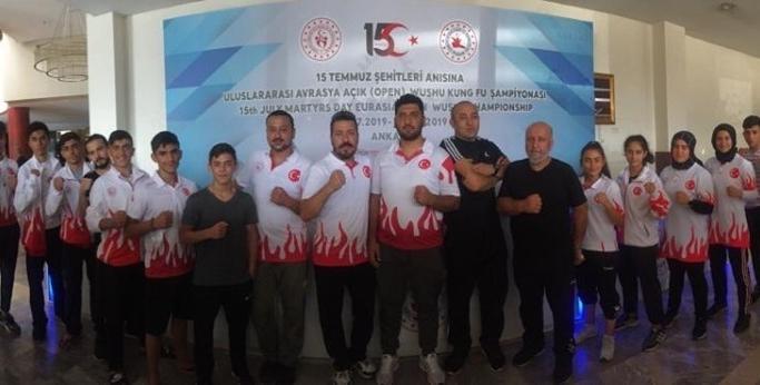 Balkan Şampiyonası'nda 10 önemli madalya