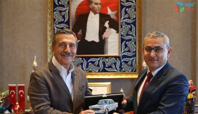 Başkan Ataç'tan Başkan Işık'a ziyaret