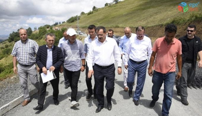 """Başkan Demir: """"Durmadan, yorulmadan çalışmaya devam"""""""
