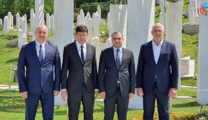 Başkan Özcan'dan Bosna Hersek dönüşü önemli mesajlar