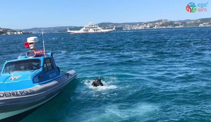 Beykoz'da denize giren genç kayboldu